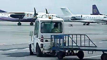 宝宝第一次坐飞机 烟台莱山机场