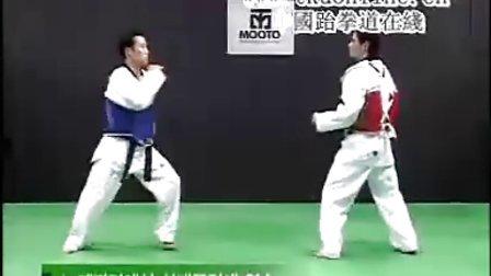 【侯韧杰  TKD  教学篇】之绝杀乔师范2