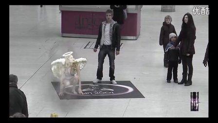 AxeLynx堕落天使扩增实境广告