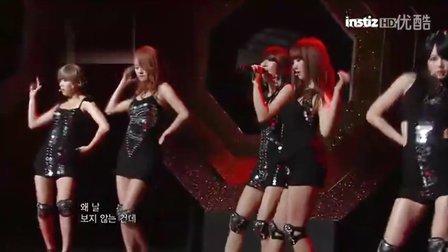 【OC】4minute回归舞台-镜子啊镜子 现场版110408.KBS音乐银行