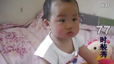 家有女儿初成长--琦琦两岁纪事