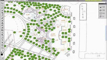 园林建筑效果图 景观设计表现视频教程