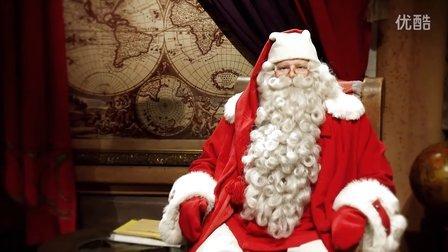 SantaClausGreeting_芬兰圣诞老人即将来长隆
