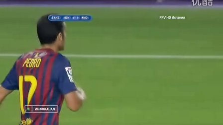 2011818西班牙超级杯次回合皇马VS巴萨上半场