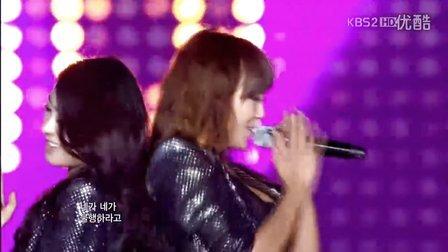 【X】[超清巴黎现场]120218 Sistar So Cool (REMIX VER.) 音乐银行