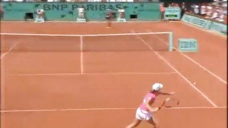 2007法国网球公开赛女单决赛 海宁VS伊万诺维奇