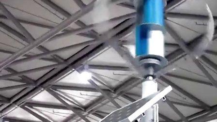 泰玛磁悬浮风力发电机高交会展区特殊效果