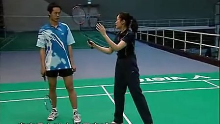 羽毛球教学视频专家把脉15全场步伐动作 后场球手腕技巧运用央视cctv5学打羽毛球教学
