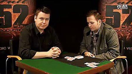 迪龙魔术2011全新幽灵扑克教学(无密码)