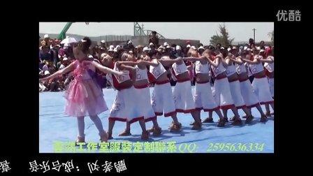 张家川县龙山镇中心小学2012六一文艺汇演--少儿舞蹈《aaaa》