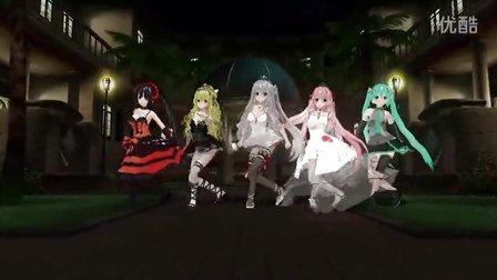 动漫人物狂三、初音游戏音乐舞蹈entrance to you