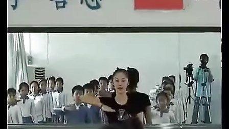 小学四年级音乐优质课左手右手课堂实录教材视频