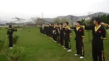 甘仁义  之黄海学院双节棍
