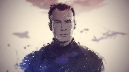 《美国队长2》粉丝视频 30秒手绘水墨风美队