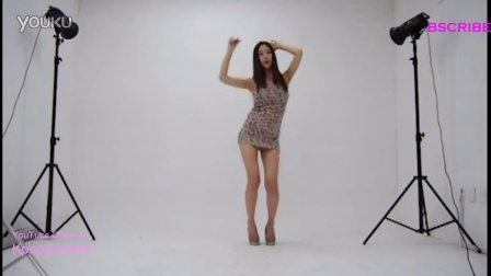 【粉红豹】美爆了!韩国性感长腿嫩模_Yoo-yeon_录影棚热舞!
