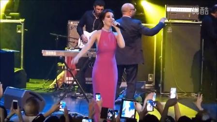 【黎巴嫩美女歌手】Nancy Ajram PARIS 2014 Ah We Noss