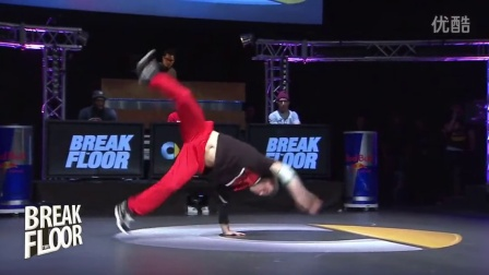 【粉红豹】7 Commandoz vs Wanted_BREAK THE FLOOR 2012_bboy