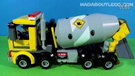 LEGO 乐高 城市系列 水泥搅拌车 60018