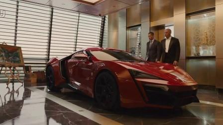 《速度与激情7》超级跑车 莱肯 ,340万美元/辆 全球限量7辆