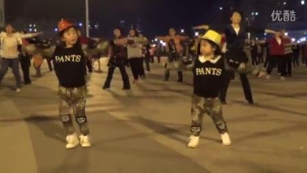 5岁宝贝 广场舞  燃烧吧蔬菜  一路惊喜