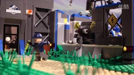 乐高LEGO★侏罗纪公园的一天「乐迷影院」