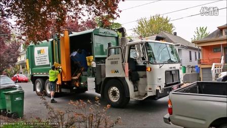 垃圾车在路上!——国外垃圾车