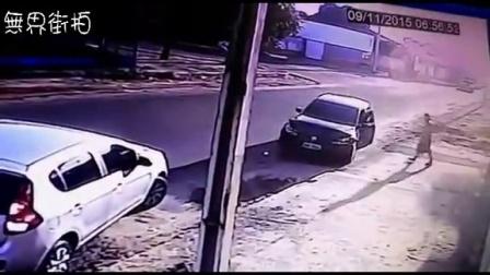 警察追杀妻子,无辜路人惨中多枪