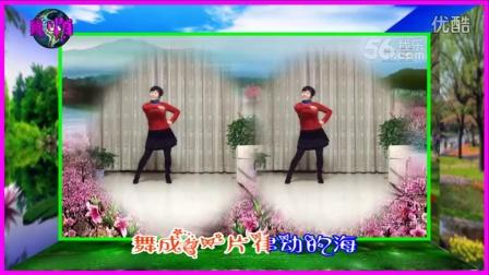 风中梅花广场舞 舞动人生 杨丽萍编舞 永不疲倦老师制作