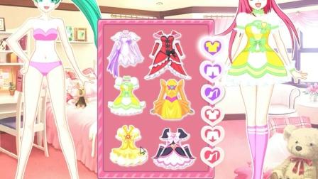 巴啦啦小魔仙大冒险之巴啦啦小魔仙神奇三人组换装打扮女生小游戏