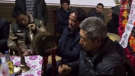 重庆奉节农村风俗-老人去世坐堂锣鼓