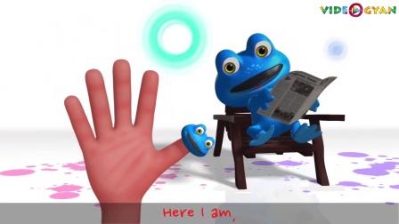 青蛙指偶家族 Frog Finger Family