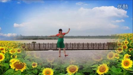 风中梅花广场舞 (藏族舞)格桑拉 演示制作  梅花