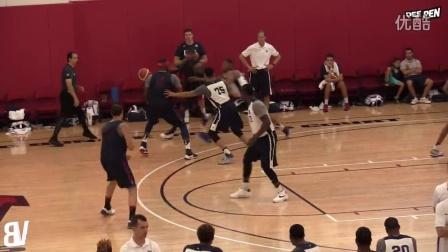 集训进行时!美国男篮进行队内对抗赛