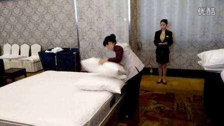 中式铺床及夜床设计第一名