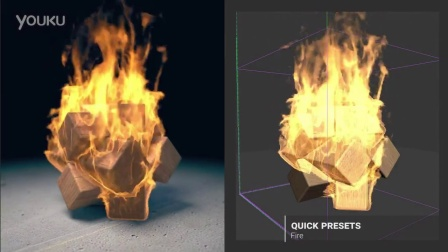 Phoenix FD 3.0 for 3ds Max - 快速预设