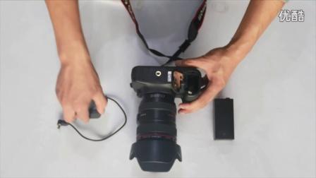 佳能相机专用大容量移动电源 安装说明