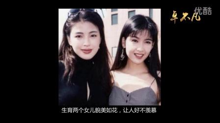 张学友2个女儿貌美如花跟妈妈罗美薇很像