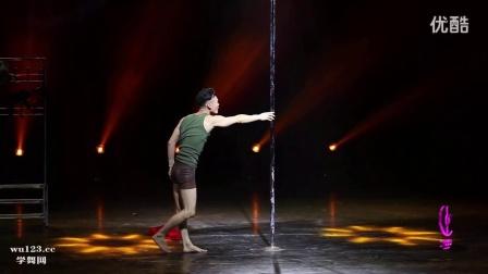 2016第六届中国钢管舞锦标赛男子组季军任飞精彩舞蹈表演