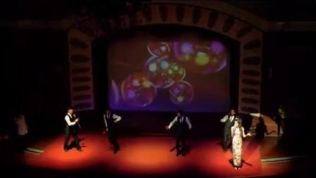 复古民国派对 上海百乐门 夜上海表演 斧头舞