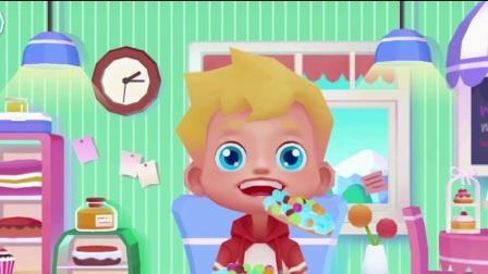 油炸甜甜圈食玩美食制作动漫游戏【创意视频】