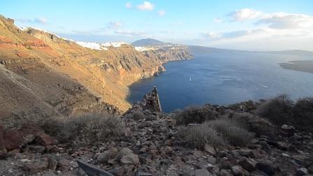 【陈小羊旅拍】圣托里尼火山岛徒步