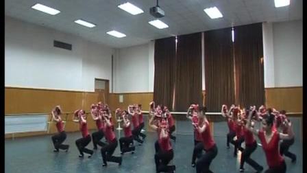 北京舞蹈学院东北秧歌(手绢花)组合B