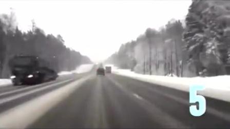 超惨烈车祸集锦(粉身碎骨),看完你还敢开车么