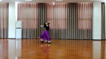又见格桑花(李明琼原创舞蹈,榆木习练)