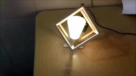 制作简易木制小夜灯