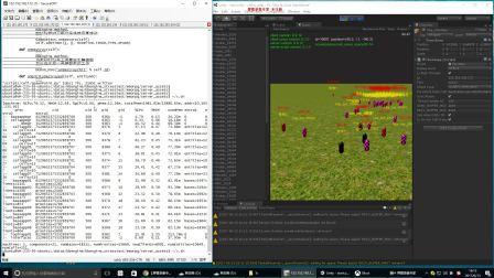 KBEngine压力测试视频(单服同屏测试达到13600人,8核16G)