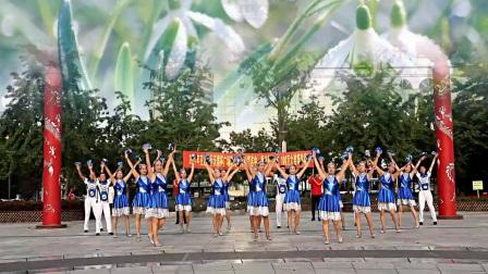 辽阳清秋广场舞2017交行沃德杯广场舞大赛舞蹈 团体版雪莲花