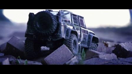 野外行走 Traxxas TRX-4 战术小队攀爬遥控车