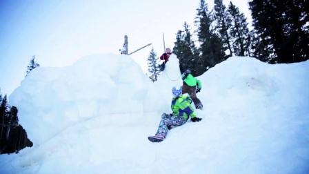 美国阿斯本雪堆山滑雪村:乌勒尔之夜