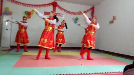 基督教舞蹈夹沟镇辛丰舞蹈团(草原儿女)